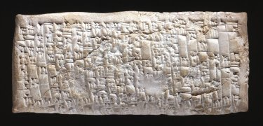 Clay tablet; letter from Nanni to Ea-nasir complaining that the wrong grade of copper ore has been delivered after a gulf voyage and about misdirection and delay of a further delivery. (© The Trustees of the British Museum. Museum number: 131236).